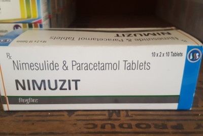 NIMESULIDE BP 100MG + PARACETAMOL IP 325MG