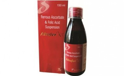 Ferrous Ascorbate, Elemental Iron30mg & Folic Acid 500 mcg