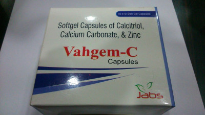 CALCITRIOL-0.25MCG+CALCIUM CARBONATE-500MG EQ.TO ELEMENTAL CAL.-200MG+ZINC