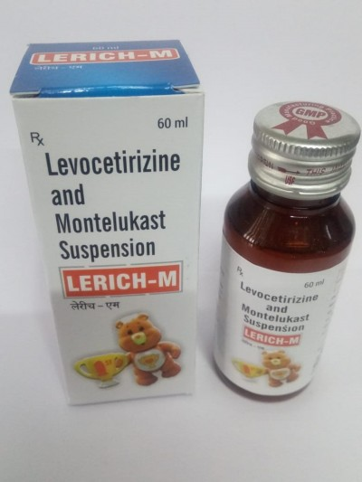 LEVOCETIRIZINE AND MONTELUKAST SUSPENSION.