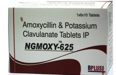 Amoxycillin Sodium 500mg +Potassium Clavunate 125 mg