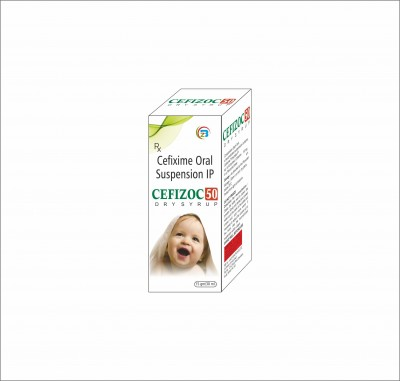 Cefixime oral Suspension 50mg/ml/with WFI