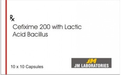 Cefixime 200 with Lactic Acid Bacilus