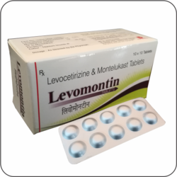 LEVOCETIRIZINE AND MONTELUKAST TABLETS