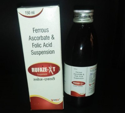 Ferrous Ascorbate 30 mg+Folic Acid 550 mcg / 5ml.