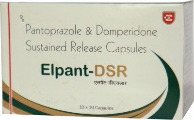 Pantoprazole 40 mg and Domperidone 30 mg (SR) Cap