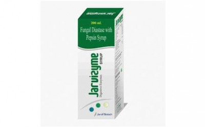 Fungal diastase with pepsin