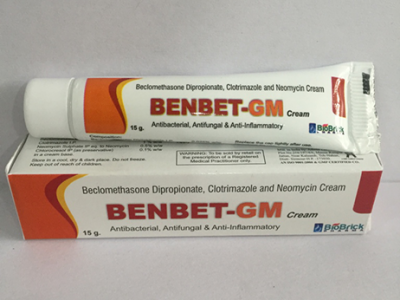 BECLOMETHASONE DIPROPIONATE + NEOMYCIN SULPHATE & CLOTRIMAZOLE CREAM