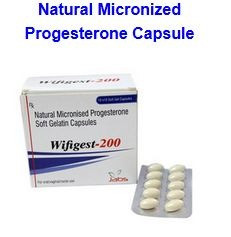 NATURAL MICRONISED PROGESTERONE-200MG