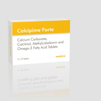 Calcium Carbonate 500 mg, Calcitriol  0.25 mcg, Methylcobalamin 1500 mcg, Omega3 Triglycerides 150 mg (Eicosapentaenoic Acid 90 mg, Docosahexaenoic Acid 60 mg), Folic Acid 400 mcg, Disodium Tetraborate equivalent to Elemental Boron 1.5 mg Tablets