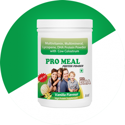 PROTEIN POWDER WITH MULTIVITAMIN & MULTIMINERALS + DHA