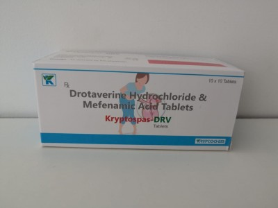 DROTAVERINE HYDROCHLORIDE & MEFENAMIC ACID TABLETS
