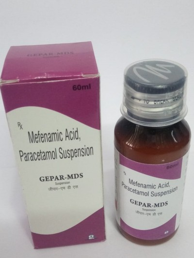 MEFENAMIC ACID & PARACETAMOL SUSPENSION