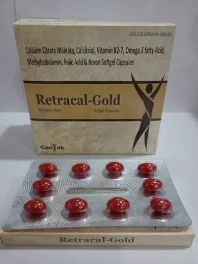 CALCIUM CITRATE MALEATE ,CALCITRIOL, VITAMIN K2-7,OMEGA 3 FATTY ACID, METHYLCOBALAMIN , FOLIC ACID & BORON SOFTGEL CAPSULES
