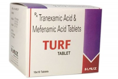 TRANEXAMIC ACID BP 500MG, MEFENAMIC ACID IP 250MG