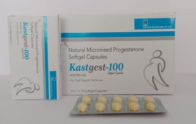 NATURAL MICRONISED PROGESTERONE SOFTGEL CAP