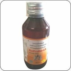 Levosalbutamol Sulphate Ambroxol and Guaiphensin LS Syrup