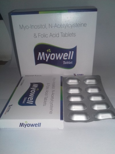 MYO-INOSITOL, N-ACETYCYSTEINE & FOLIC ACID TABLETS