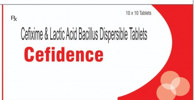 CEFIXIME & LACTIC ACID BACILLUS DISPERSIBLE