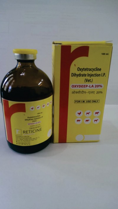 OXYTETRACYCLINE DIHYDRATE INJECTION I.P. (VET)