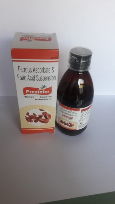 Ferrous Ascorbate & Folic Acid Suspension