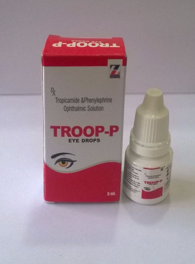 Tropicamide0.8%+phenylephirine hcl 5.0%