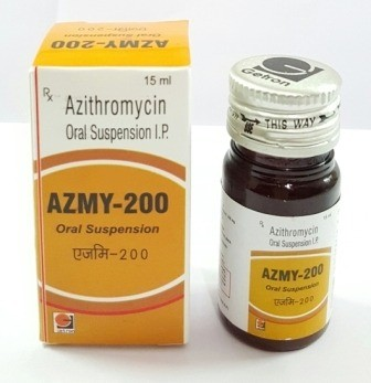 Azithromycin 200mg/5ml Suspension