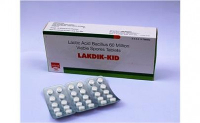 Lactic Acid Bacillus Viable Spores 60 Million