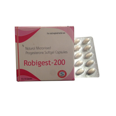 Natural Micronised Progesterone Soft Gelatin Capsule