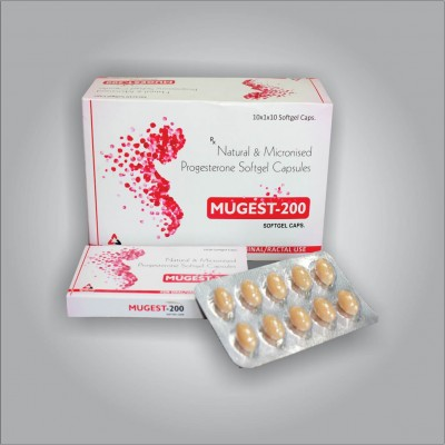 NATURAL 7 MICRONISED PROGESTERONE SOFTGEL CAPSULES