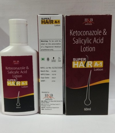 SUPER HAIR A-1(KETOCONAZOLE & SALICYLIC ACID LOTION )