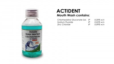 Pharmaceuticals Mouth Wash