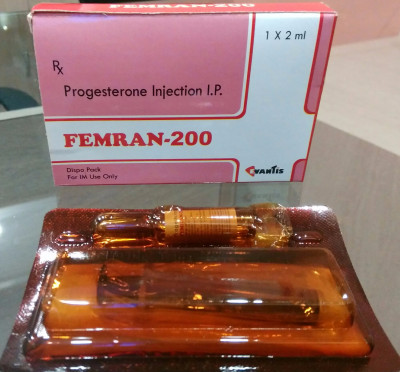Natural Micronised Progesterone 200 mg