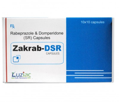 RABEPRAZOLE SODIUM 20MG DOMPERIDONE SR 30MG