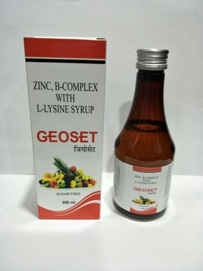 B COMPLEX WITH LYSINE ( sugar free)