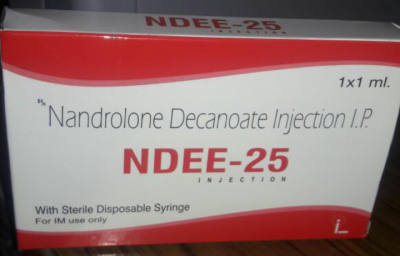 Nandrolone Decanoate Injection 25mg  (With Syringe)