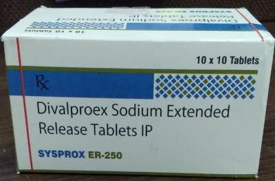 DIVALPROEX SODIUM EXTENED RELAEASE TABLETS IP