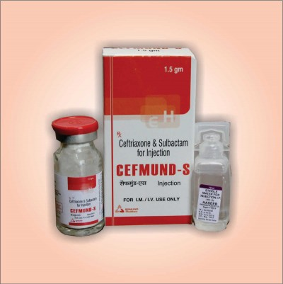 CEFTRIAXONE & SULBACTAM FOR INJECTION I.P.