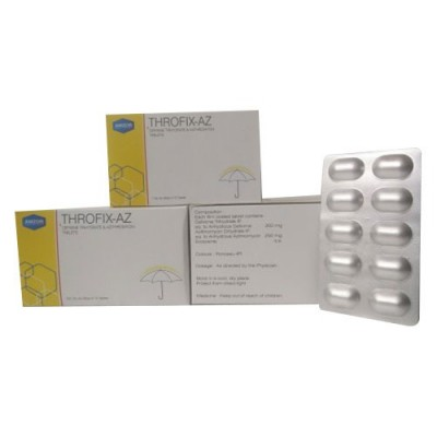 CEFIXIME TRIHYDRATE IP 200MG+AZITHROMYCIN 250 MG Tablets