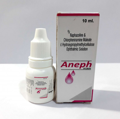 Naphazoline & chlorheniramine maleate c hydroxypropylmethylcellulose ophthalmic solution