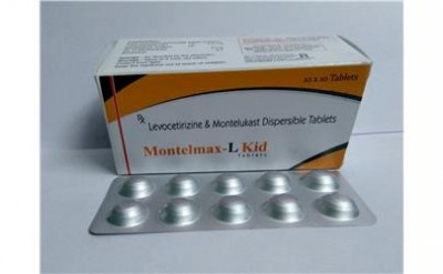 MONTELUKAST SODIUM 4mg +LEVOCETRIZINE 2.5mg KID TAB