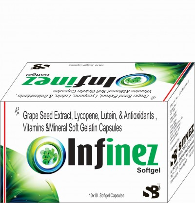 GRAPE SEED EXTRACT ,LYCOPENE , LUTEIN & ANTIOXIDANTS, VITAMINS & MINERALS SOFTGELATIN CAPSULES