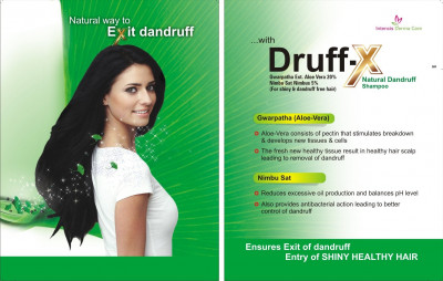 Druff-X Natural Anti-Dandruff Shampoo