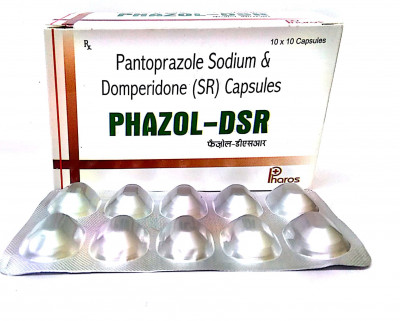 PENTAPRAZOL 40 MG + DOMPERIDONE 30 MG  DSR