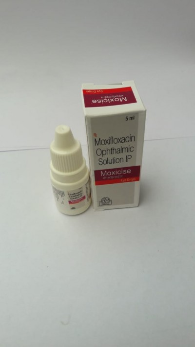 Moxifloxacin Ophthalmic solution IP