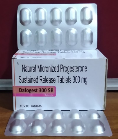 NATURAL MICRONIZED PROGESTERONE SUSTAINED RELEASE TABLETS 300MG