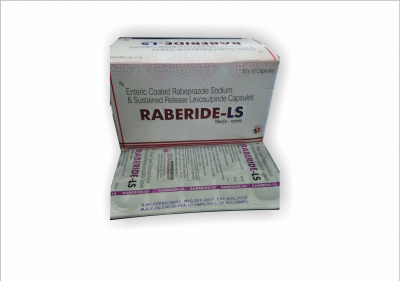 Enteric Coated Rabeprazole Sodium & Sustained Release Levosulpride Capsules