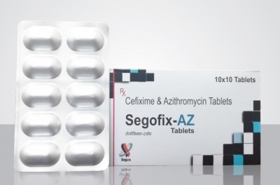 Cefixime 200mg + Azithromycin 250mg  Tablet