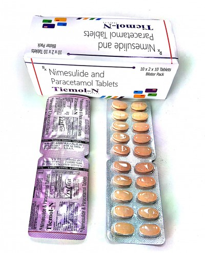 NIMESULIDE BP 100MG+PARACETAMOL IP 325MG