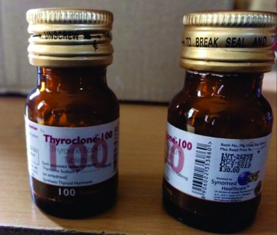Thyroxine Sodium Tablets Ip By Synergy Pharmaceuticals